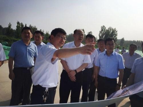 王京文带队视察督导集团公司两处管线占压情况