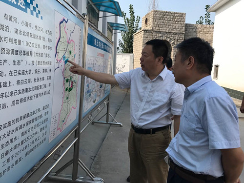刘伟亮调研我市东部地区供水情况
